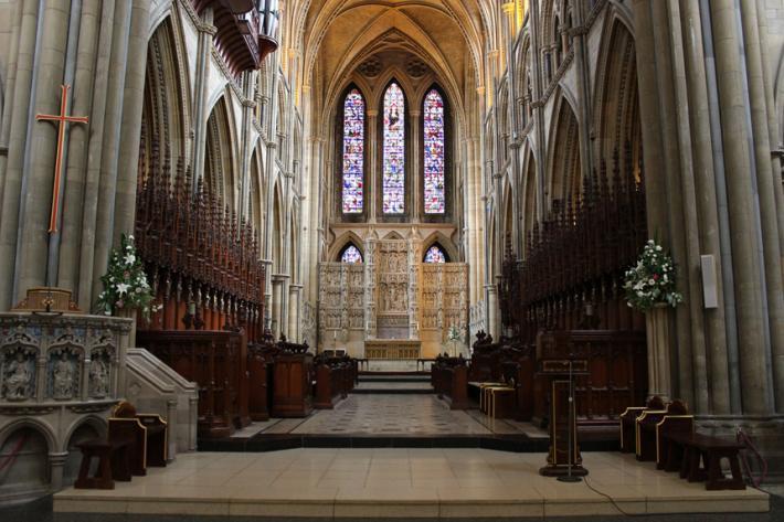 Interior of Truro Cathedral