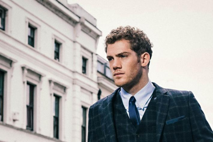 Alistair Brammer in a cool suit