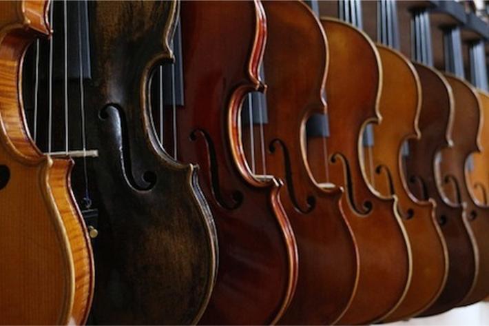 Image of violins