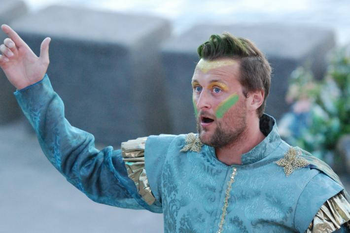 The Fairy King Oberon, in Britten's opera A Midsummer Night's Dream