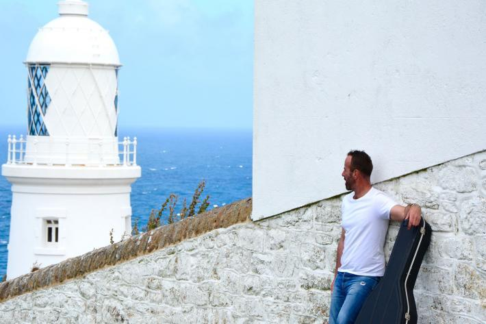 Will Keating pictured at Pendeen Lighthouse